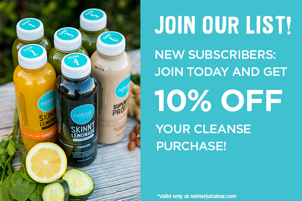 Cleanse Frequently Asked Questions   Nékter Juice Bar